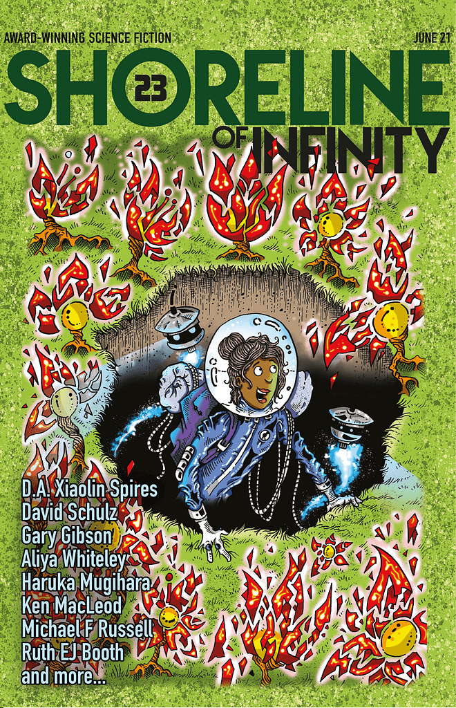 Shoreline of Infinity 23 front cover