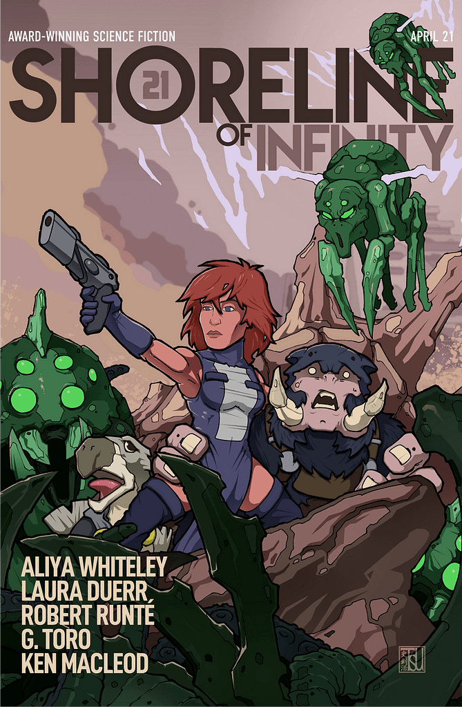 Shoreline of Infinity 21 Cover