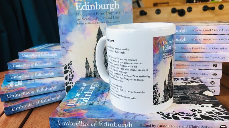 Story Mug 2 Umbrellas of Edinburgh