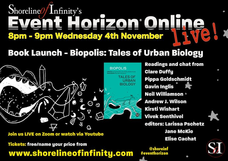 Event Horizon Book Launch – Biopolis: Tales of Urban Biology