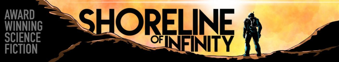 Shoreline of Infinity Banner by Sam Mitchell