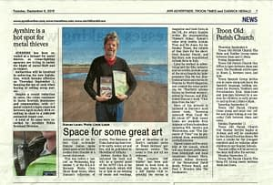 Duncan in the Troon Times